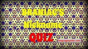 nickname quiz